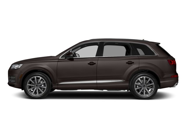 Argus Brown Metallic 2018 Audi Q7 Pictures Q7 2.0 TFSI Premium Plus photos side view
