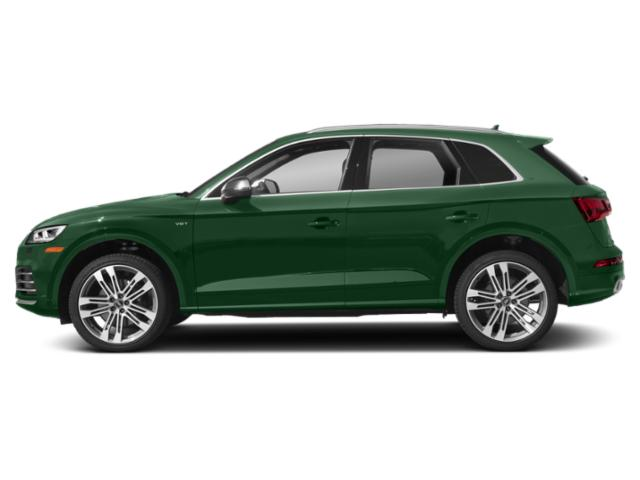 Azores Green Metallic 2018 Audi SQ5 Pictures SQ5 3.0 TFSI Prestige photos side view