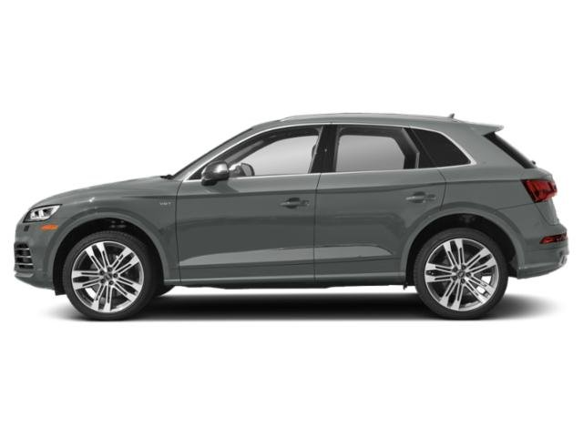 Monsoon Gray Metallic 2018 Audi SQ5 Pictures SQ5 3.0 TFSI Prestige photos side view