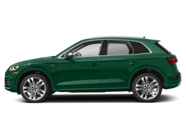 Azores Green Metallic 2018 Audi SQ5 Pictures SQ5 Utility 4D Prestige AWD photos side view