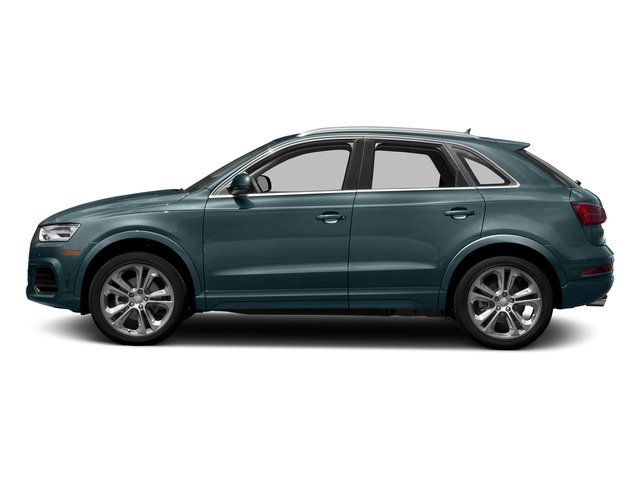 Utopia Blue Metallic 2018 Audi Q3 Pictures Q3 2.0 TFSI Sport Premium Plus FWD photos side view