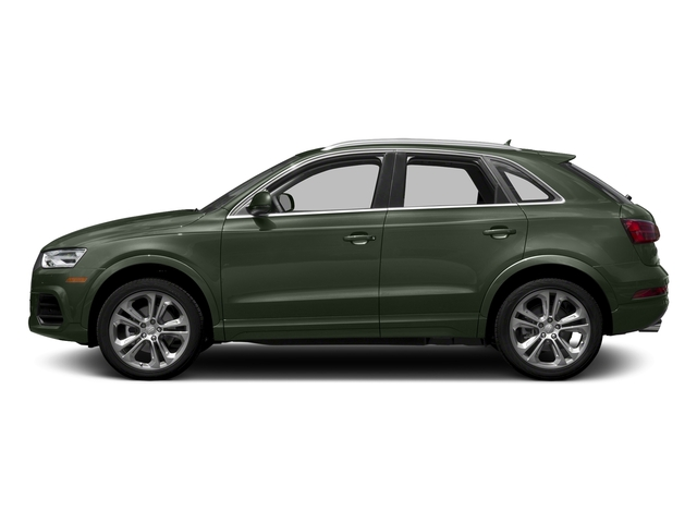 Camouflage Green Metallic 2018 Audi Q3 Pictures Q3 2.0 TFSI Sport Premium Plus FWD photos side view