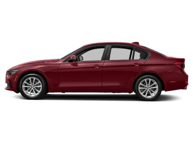 Melbourne Red Metallic 2018 BMW 3 Series Pictures 3 Series Sedan 4D 320i photos side view