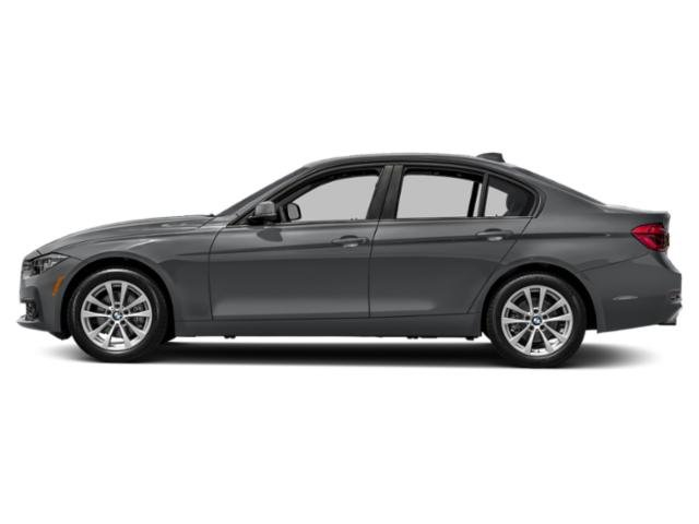 Mineral Gray Metallic 2018 BMW 3 Series Pictures 3 Series Sedan 4D 320i photos side view