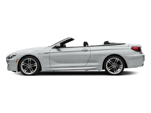 Glacier Silver Metallic 2018 BMW 6 Series Pictures 6 Series 650i xDrive Convertible photos side view