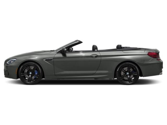 Space Gray Metallic 2018 BMW M6 Pictures M6 Convertible photos side view