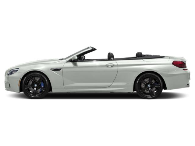 Alpine White 2018 BMW M6 Pictures M6 Convertible photos side view