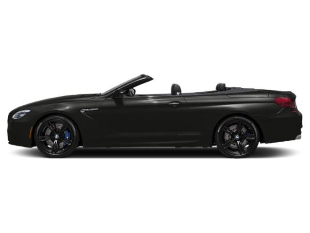 Citrin Black Metallic 2018 BMW M6 Pictures M6 Convertible photos side view