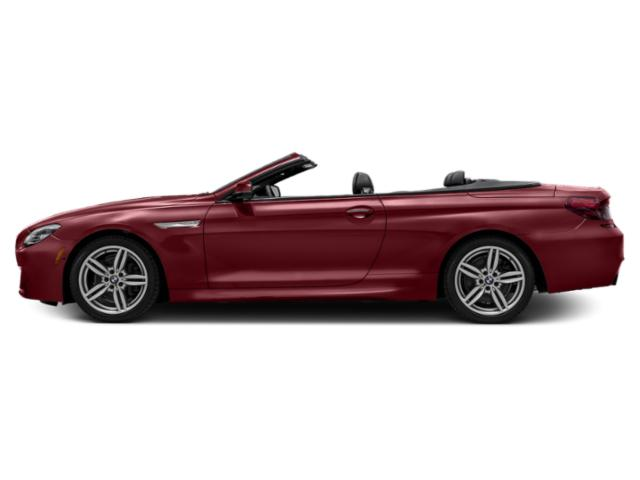 Melbourne Red Metallic 2018 BMW 6 Series Pictures 6 Series 640i Convertible photos side view
