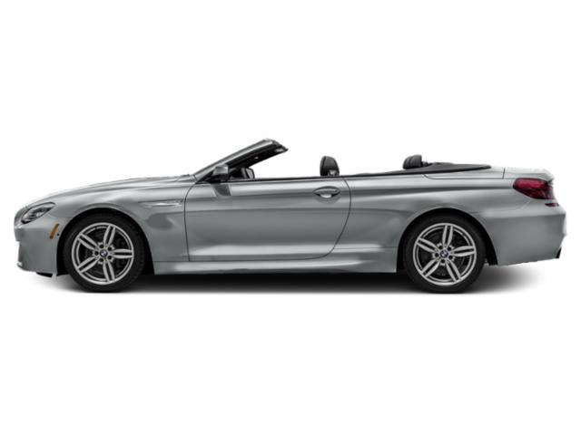 Glacier Silver Metallic 2018 BMW 6 Series Pictures 6 Series 640i Convertible photos side view