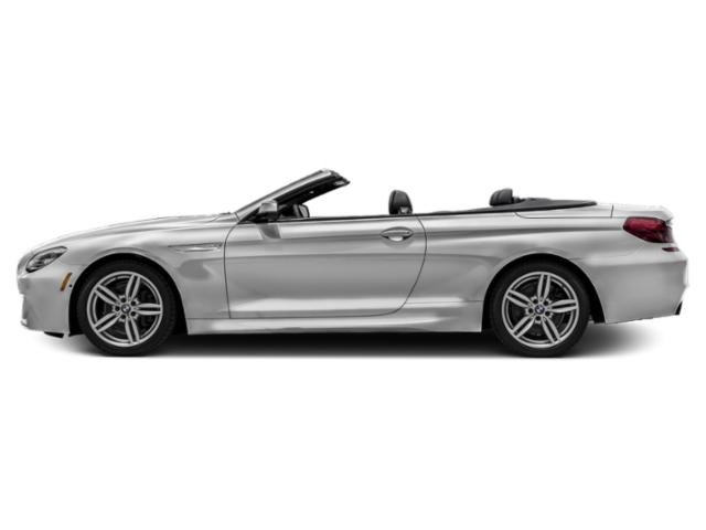 Mineral White Metallic 2018 BMW 6 Series Pictures 6 Series 640i Convertible photos side view