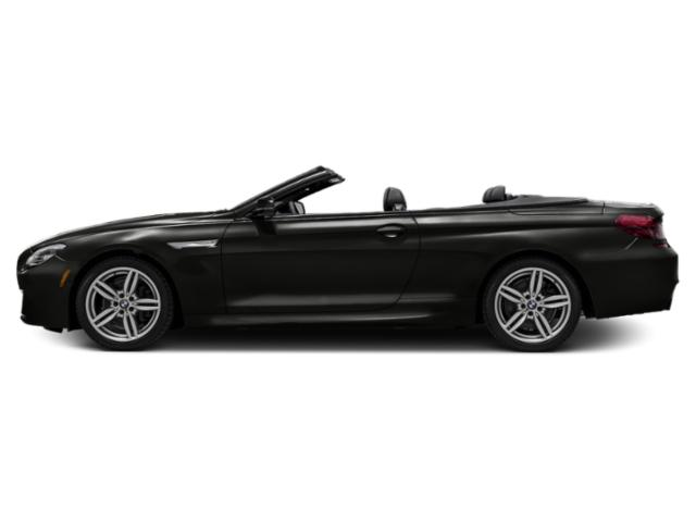 Citrin Black Metallic 2018 BMW 6 Series Pictures 6 Series 640i Convertible photos side view