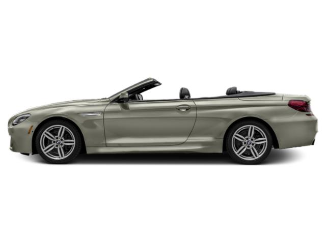 Moonstone Metallic 2018 BMW 6 Series Pictures 6 Series 640i Convertible photos side view
