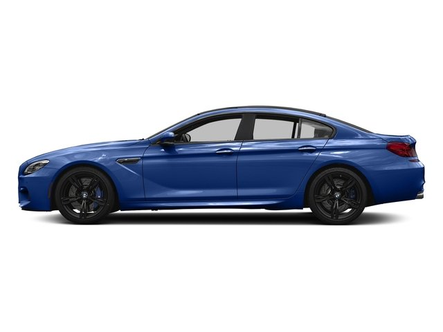San Marino Blue Metallic 2018 BMW M6 Pictures Gran Coupe Photos Side View