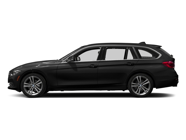 Jet Black 2018 BMW 3 Series Pictures 3 Series 328d xDrive Sports Wagon photos side view