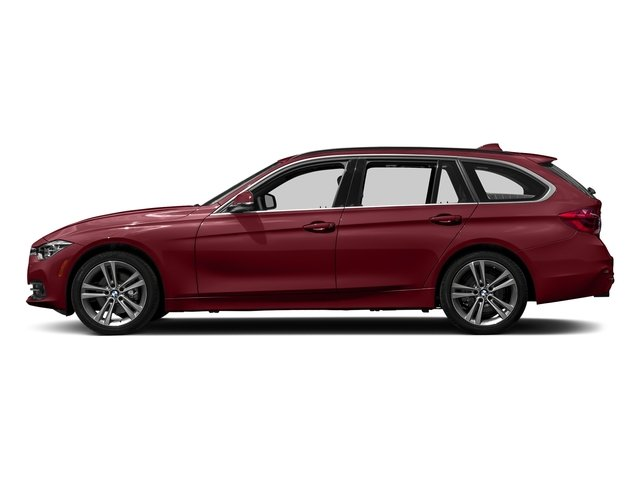 Melbourne Red Metallic 2018 BMW 3 Series Pictures 3 Series 328d xDrive Sports Wagon photos side view