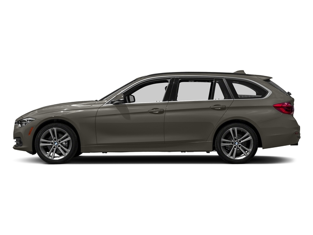 Platinum Silver Metallic 2018 BMW 3 Series Pictures 3 Series 328d xDrive Sports Wagon photos side view