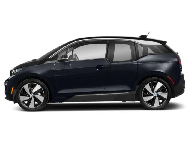 Imperial Blue Metallic w/Frozen Gray Accent 2018 BMW i3 Pictures i3 Hatchback 4D S w/Range Extender photos side view