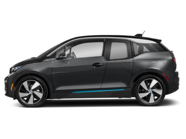 Mineral Gray Metallic w/BMW i Frozen Blue Accent 2018 BMW i3 Pictures i3 Hatchback 4D S w/Range Extender photos side view