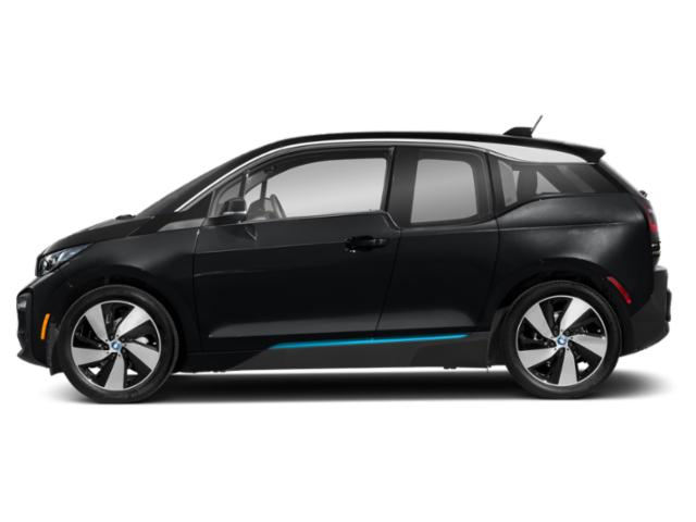 Fluid Black w/BMW i Frozen Blue Accent 2018 BMW i3 Pictures i3 Hatchback 4D S w/Range Extender photos side view