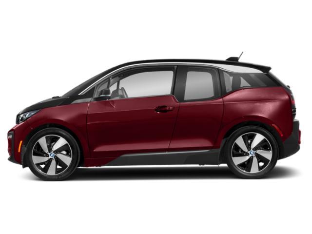 Melbourne Red Metallic w/Frozen Gray Accent 2018 BMW i3 Pictures i3 Hatchback 4D S w/Range Extender photos side view