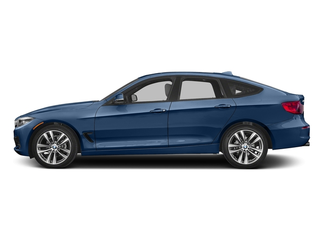 Estoril Blue Metallic 2018 BMW 3 Series Pictures 3 Series 330i xDrive Gran Turismo photos side view