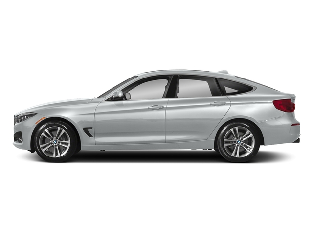 Glacier Silver Metallic 2018 BMW 3 Series Pictures 3 Series 340i xDrive Gran Turismo photos side view