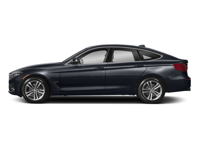 Imperial Blue Metallic 2018 BMW 3 Series Pictures 3 Series 340i xDrive Gran Turismo photos side view