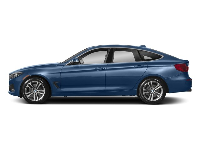 Estoril Blue Metallic 2018 BMW 3 Series Pictures 3 Series 340i xDrive Gran Turismo photos side view
