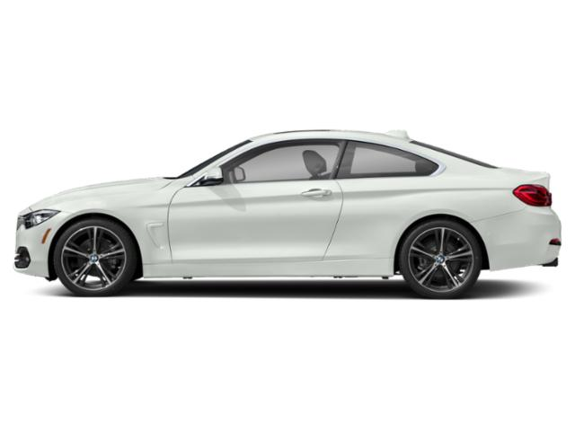 Alpine White 2018 BMW 4 Series Pictures 4 Series Coupe 2D 430i photos side view