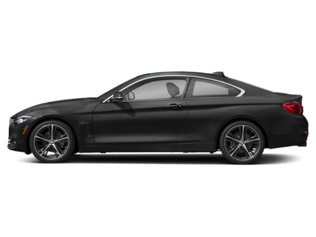 Black Sapphire Metallic 2018 BMW 4 Series Pictures 4 Series Coupe 2D 430i photos side view