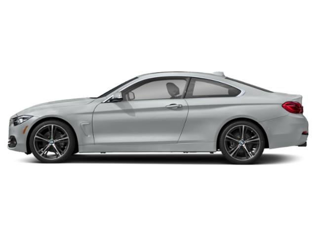 Glacier Silver Metallic 2018 BMW 4 Series Pictures 4 Series Coupe 2D 430i photos side view
