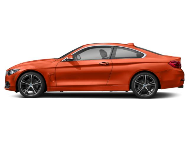 Sunset Orange Metallic 2018 BMW 4 Series Pictures 4 Series Coupe 2D 430i photos side view
