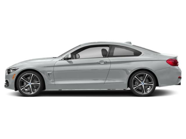 Glacier Silver Metallic 2018 BMW 4 Series Pictures 4 Series Coupe 2D 440i photos side view