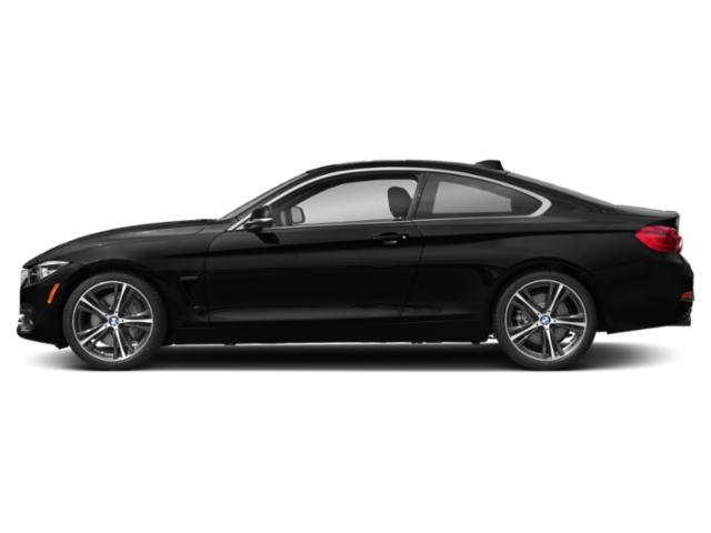 Black Sapphire Metallic 2018 BMW 4 Series Pictures 4 Series Coupe 2D 440i photos side view