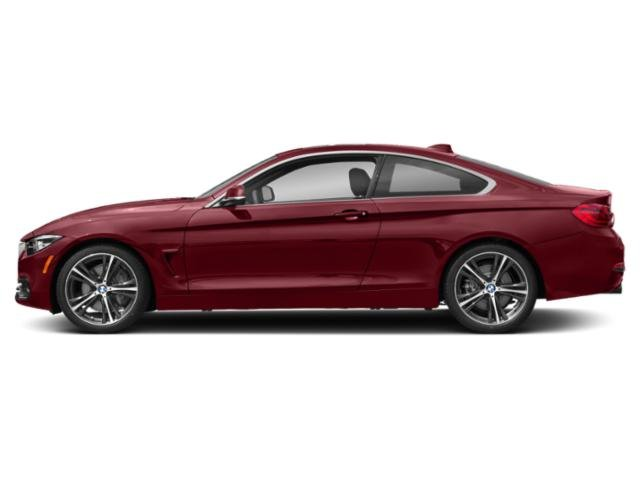 Melbourne Red Metallic 2018 BMW 4 Series Pictures 4 Series Coupe 2D 440i photos side view