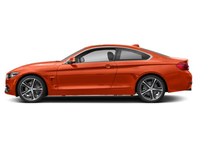 Sunset Orange Metallic 2018 BMW 4 Series Pictures 4 Series Coupe 2D 440i photos side view