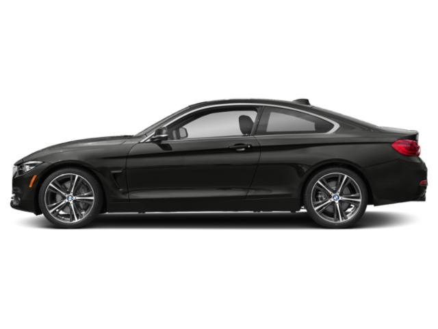 Citrin Black Metallic 2018 BMW 4 Series Pictures 4 Series Coupe 2D 440i photos side view
