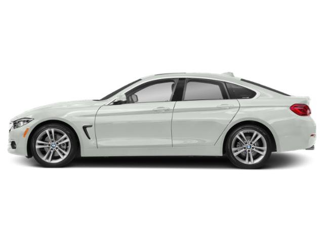 Alpine White 2018 BMW 4 Series Pictures 4 Series Sedan 4D 430xi AWD photos side view