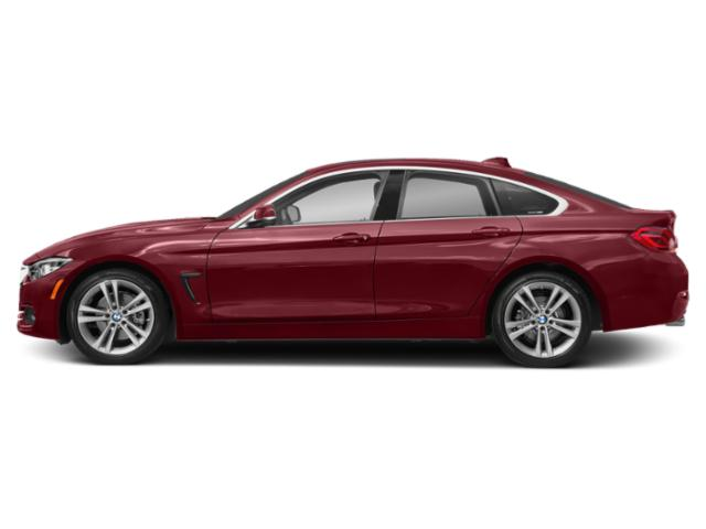 Melbourne Red Metallic 2018 BMW 4 Series Pictures 4 Series Sedan 4D 430xi AWD photos side view