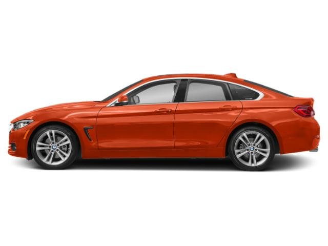Sunset Orange Metallic 2018 BMW 4 Series Pictures 4 Series Sedan 4D 430xi AWD photos side view