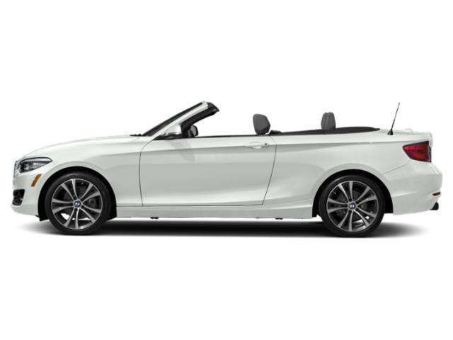Alpine White 2018 BMW 2 Series Pictures 2 Series Convertible 2D 230xi AWD photos side view