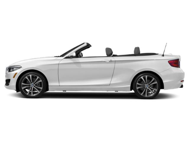 Mineral White Metallic 2018 BMW 2 Series Pictures 2 Series Convertible 2D 230xi AWD photos side view