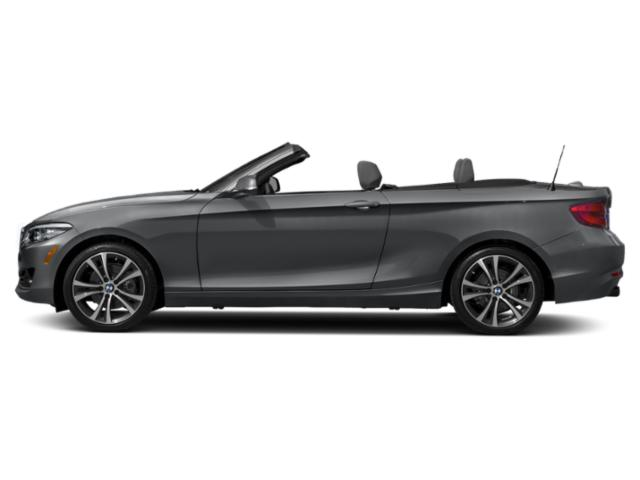 Mineral Gray Metallic 2018 BMW 2 Series Pictures 2 Series Convertible 2D 230xi AWD photos side view