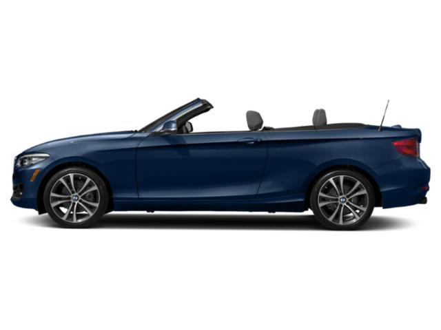 Mediterranean Blue Metallic 2018 BMW 2 Series Pictures 2 Series Convertible 2D 230xi AWD photos side view