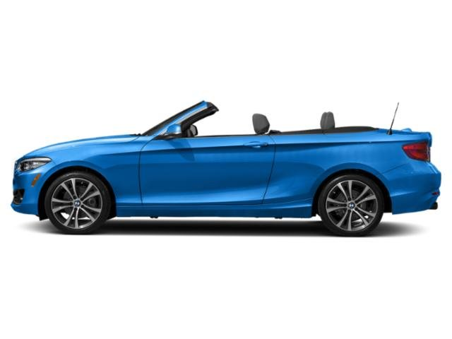 Seaside Blue Metallic 2018 BMW 2 Series Pictures 2 Series Convertible 2D 230xi AWD photos side view