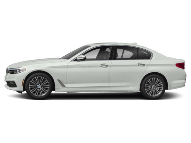 Alpine White 2018 BMW 5 Series Pictures 5 Series 540d xDrive Sedan photos side view