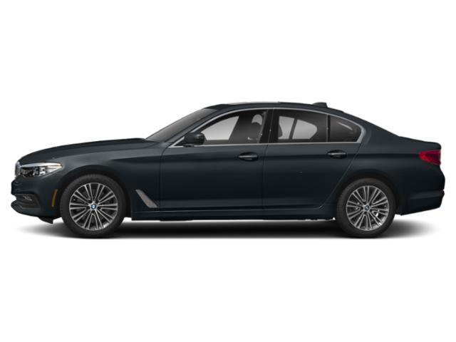 Carbon Black Metallic 2018 BMW 5 Series Pictures 5 Series 540d xDrive Sedan photos side view
