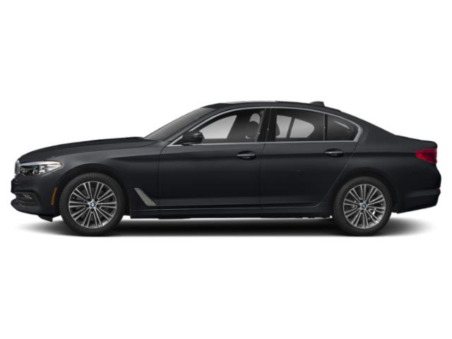 Azurite Black Metallic 2018 BMW 5 Series Pictures 5 Series 540d xDrive Sedan photos side view