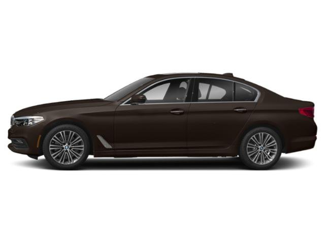 Almandine Brown Metallic 2018 BMW 5 Series Pictures 5 Series 540d xDrive Sedan photos side view